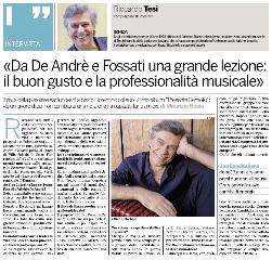 Intervista a Riccardo Tesi per IlFirenze